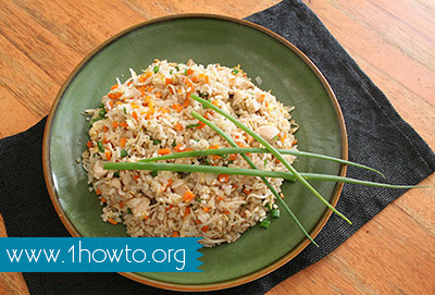 how to make real fried rice